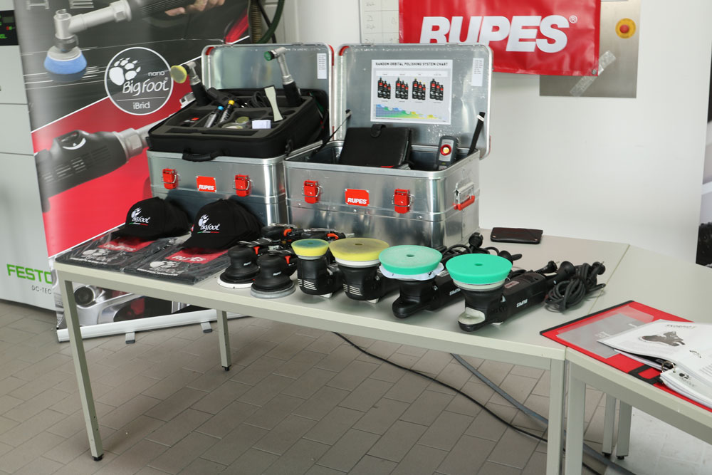 Rupes Poliersysteme
