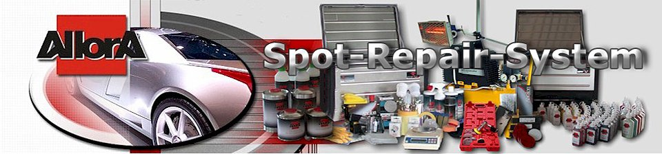 Spot Repair mit System - AllorA Spot Repair System made by Toplac